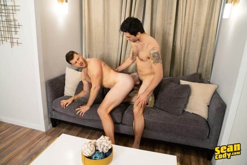 Hairy chested muscle hunk Nicky bareback fucks Caden hot bubble ass 12 gay porn pics - Hairy chested muscle hunk Nicky bareback fucks Caden's hot bubble ass