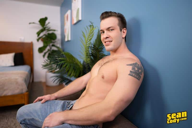 Sexy muscle dude Clyde eats black stud Chris asshole barebacking missionary 3 gay porn pics - Sexy muscle dude Clyde eats black stud Chris's asshole then barebacking him missionary