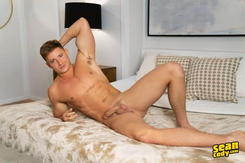 Sexy young muscle boy Max Campbell solo big dick jerk off 10 gay porn pics - Sexy young muscle boy Max Campbell solo big dick jerk off