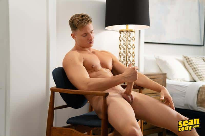 Sexy young muscle boy Max Campbell solo big dick jerk off 13 gay porn pics - Sexy young muscle boy Max Campbell solo big dick jerk off