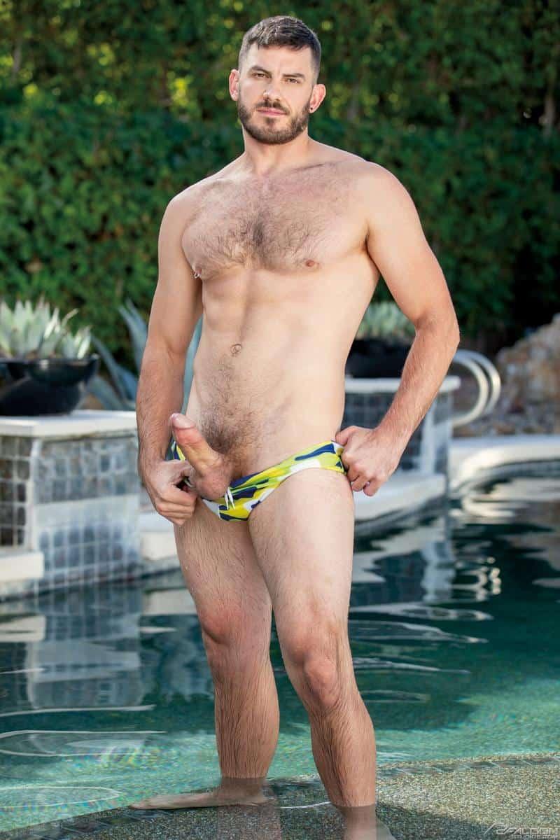 Sexy muscle dude Colton Reece huge cock bareback fucks Vander Pulaski hot bubble butt 5 gay porn pics - Sexy muscle dude Colton Reece's huge cock bareback fucks Vander Pulaski's hot bubble butt