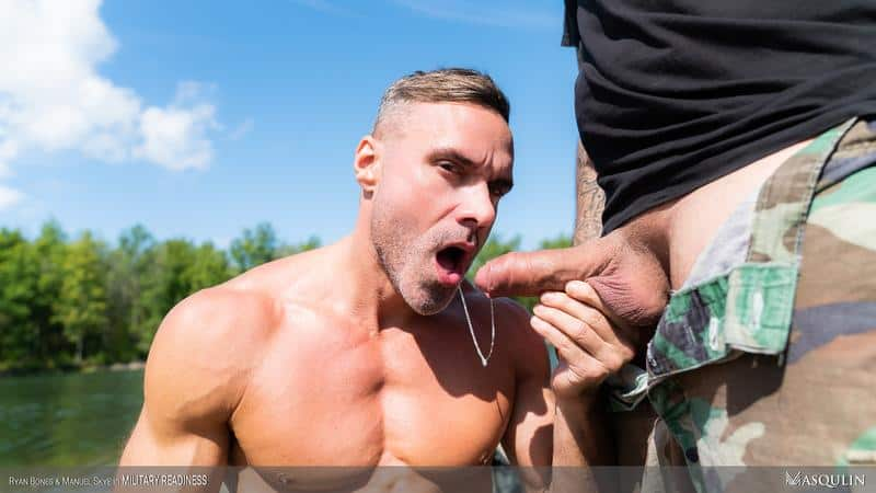 Army boys fuck fest Corporal Manuel Skye bottoms hairy muscle hunk Ryan Bones huge raw dick 0 gay porn pics - Army boys fuck fest Corporal Manuel Skye bottoms for hairy muscle hunk Ryan Bones' huge raw dick