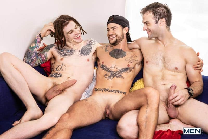 Hardcore gay threesome Gabriel Clark Tommy Tanner Sunny D big dick spit roasting ass fucking 0 gay porn pics - Hardcore gay threesome Gabriel Clark, Tommy Tanner and Sunny D big dick spit roasting ass fucking